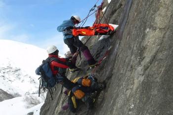 High Mountain Rescue Training