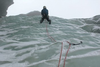 Ice climbing level -1